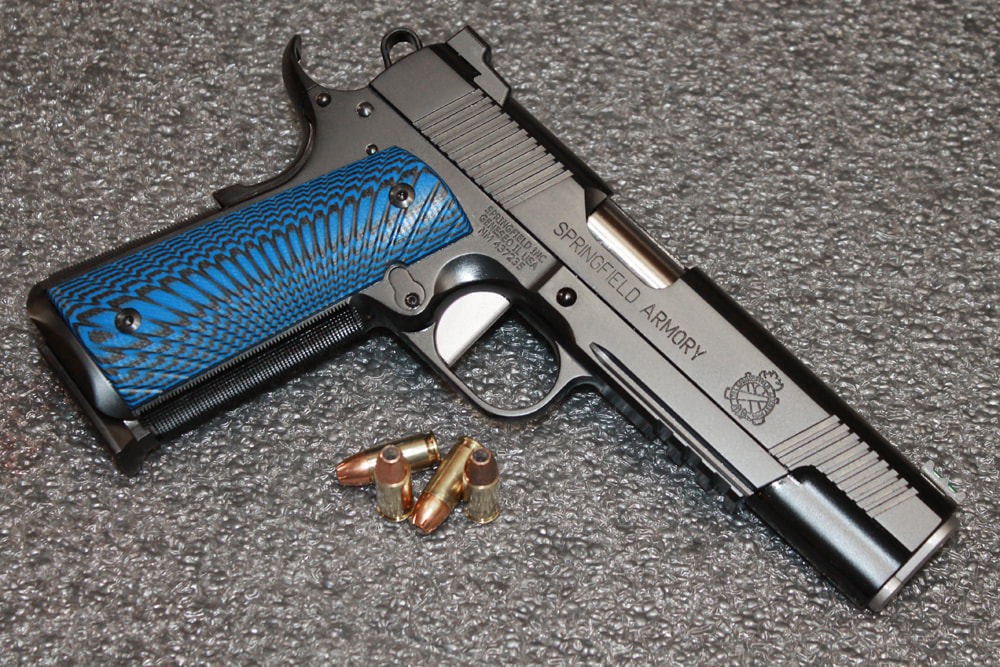 Custom Springfield 9mm Range Officer Operator
